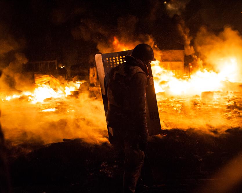 maidan revolution act 2 ukraine guillaume herbaut photography