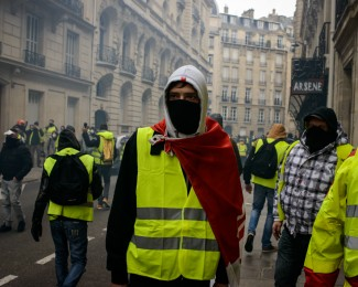 yellow vest demonstration